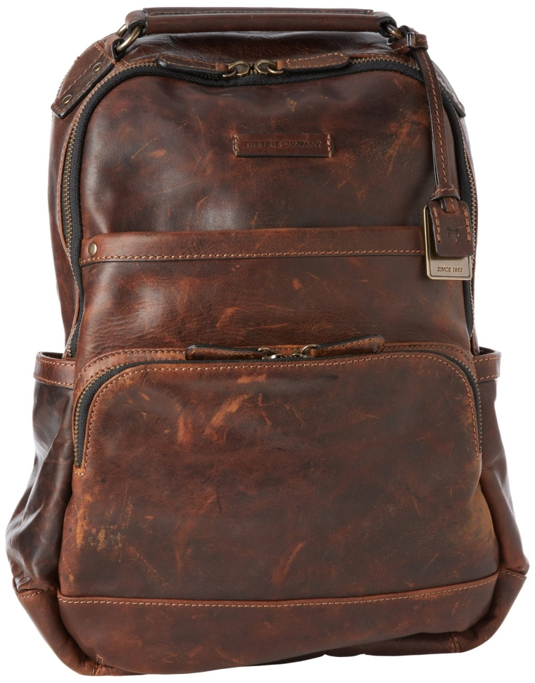 Logan Antique Pull Up Backpack