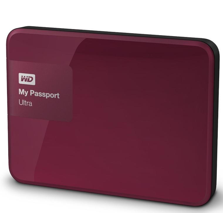 My Passport Ultra 2 TB Portable External Hard Drive