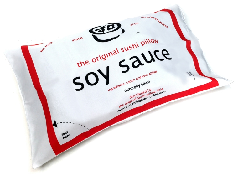 SOY SAUCE PACKET PILLOW CASE