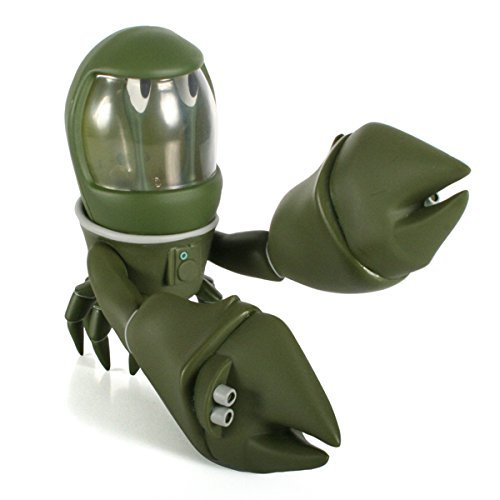 Space Crab Green Edition Designer Vinyl Figure