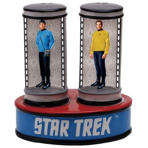 Star Trek Salt and Pepper Transporter Shaker