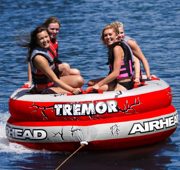Tremor 1-4 Person Towable Tube