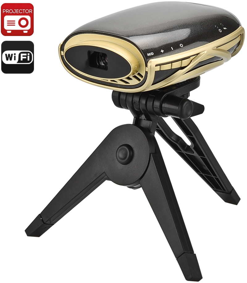 Wireless Pocket LED Projector