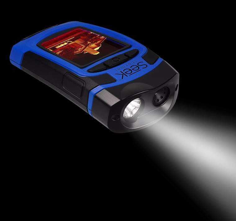All In One Handheld Thermal Imager with Flashlight