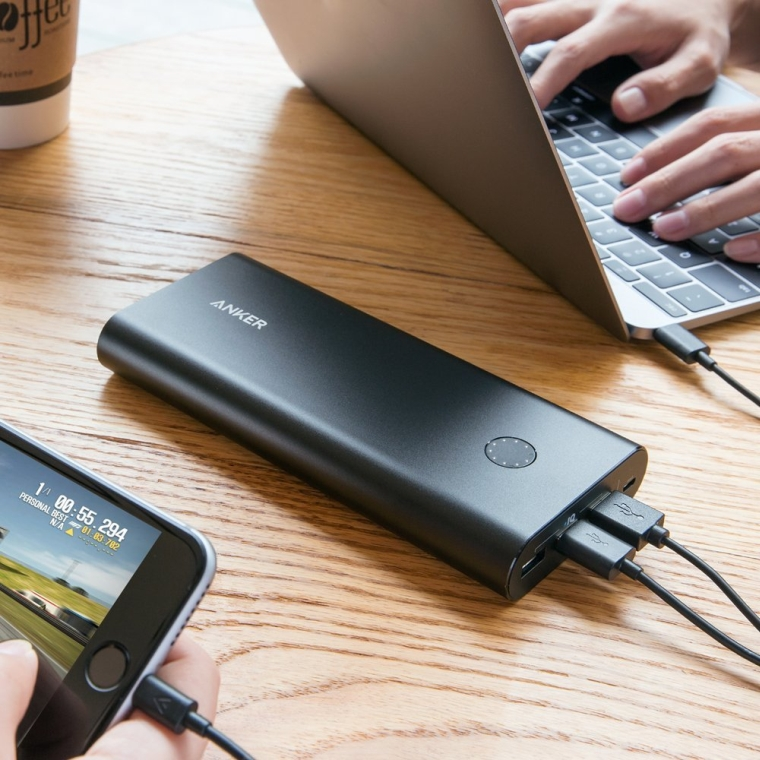 Anker PowerCore+ 26800 Premium Portable Charger & USB Wall Charger