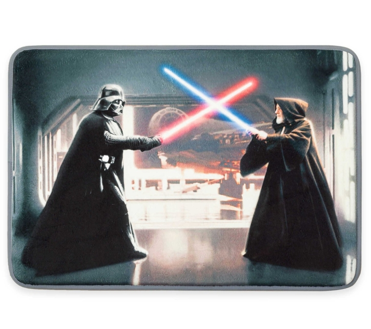 Aquatopia Star Wars Light Saber Super Absorbent Pressure-Sensitive Memory Foam Accent Mat