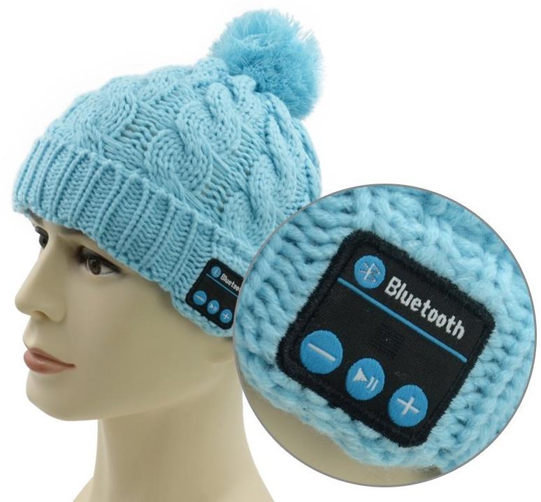 Bluetooth Beanie Knitted Hat Music Hat Headphone Speaker