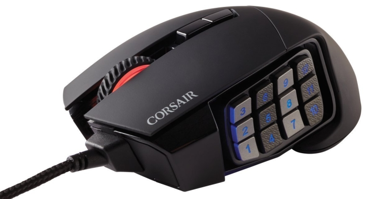 Corsair Gaming SCIMITAR RGB MOBAMMO Gaming Mouse