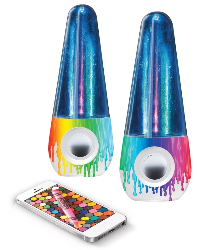 Crayola CRA-BTWTR-DRP Mini Portable Stereo Speaker