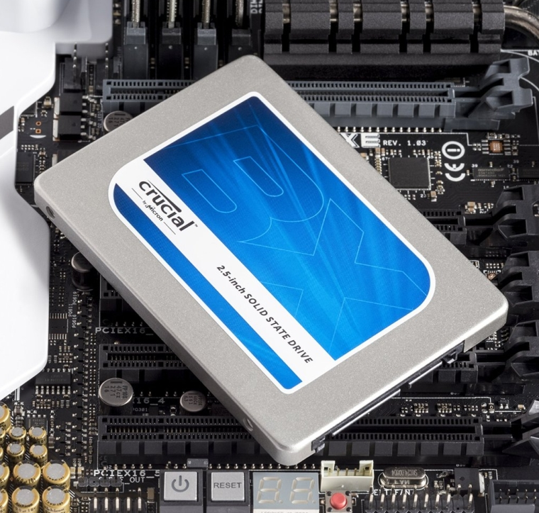 Crucial BX100 1TB SATA 2.5 Inch Internal Solid State Drive