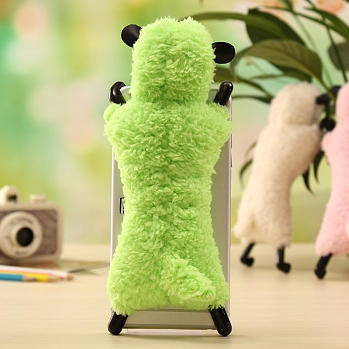 Cute 3D Sheep Fluffy Plush Fur Case for iPhone 6