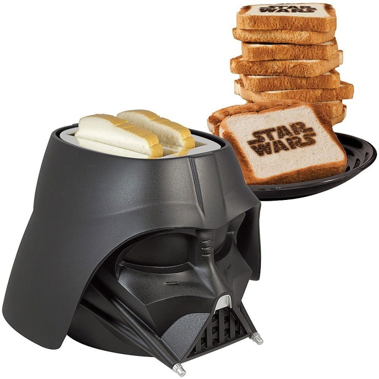 Darth Vader Helmet Shaped Toaster