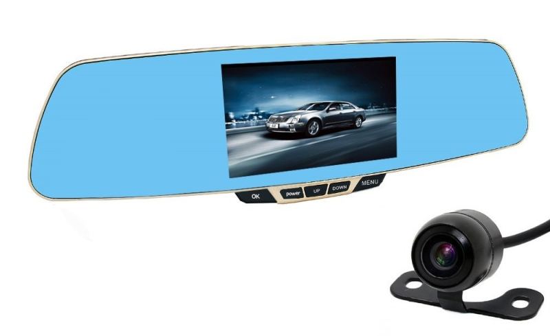 Dash Cam CiBest® HD1080p Dual Lens Car DVR