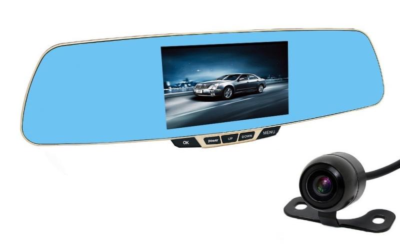 Dash Cam CiBest® HD1080p Dual Lens Car DVR