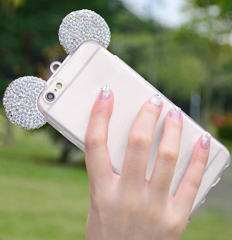 Flexible Mickey Mouse Ears Cover