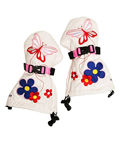 Flutter Waterproof and Warm Easy On Winter Kids Mittens