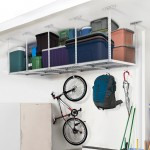 Heavy Duty Overhead Garage Adjustable Ceiling Storage Rack,