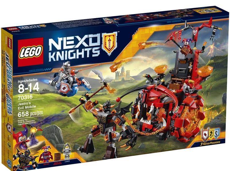 LEGO NexoKnights Jestro's Evil Mobile