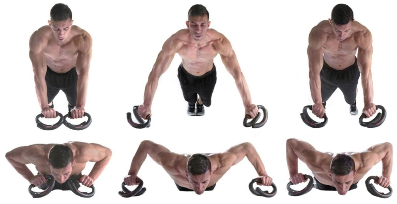 Legend Pushup Push Up Bars + Stability Trainer