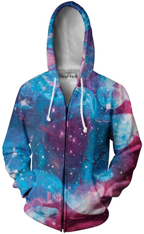 Nebula Zip-Up Hoodie