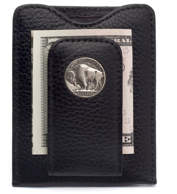 Nickel Money Clip Credit Card Wallet