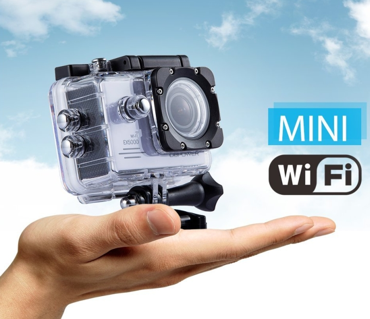 Original EX5000 WIFI 2.0inch 14MP FHD Sports Action Camera waterproof