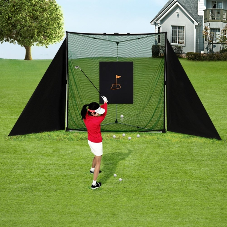 Portable Golf & Baseball Practice Net Setup Full Kit