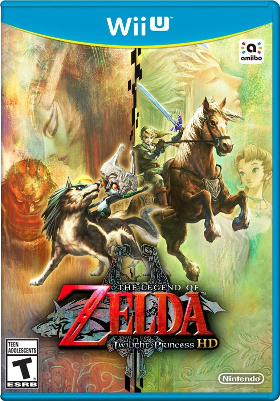 The Legend of Zelda Twilight Princess HD - Wii U