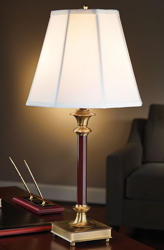The Library Of Congress Desk Lamp.
