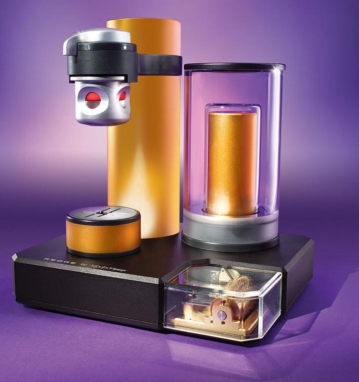 The World's Only Music Box Espresso Machine