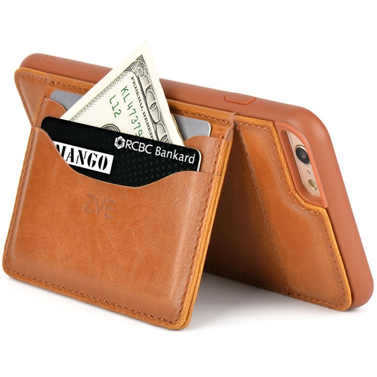 Wallet Cover Case with Stand Feature and Credit Card ID Holders wallet case for Apple iPhone 6 plus