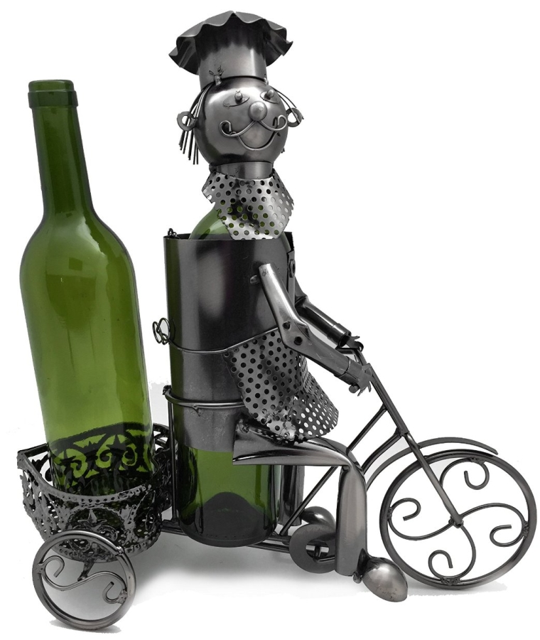 2 BOTTLE WINE BOTTLE HOLDER