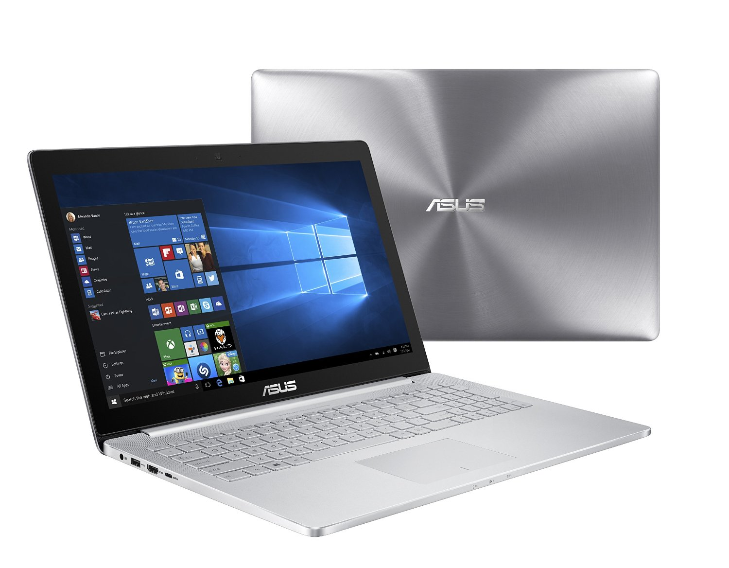 ASUS ZenBook Pro UX501VW 15-Inch Ultra-HD 4K Touchscreen Laptop