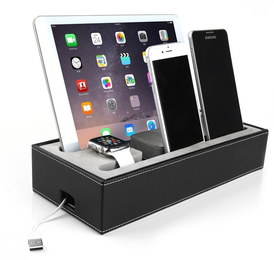 Apple Watch Stand & Iphone iPad Charging Station Multiple