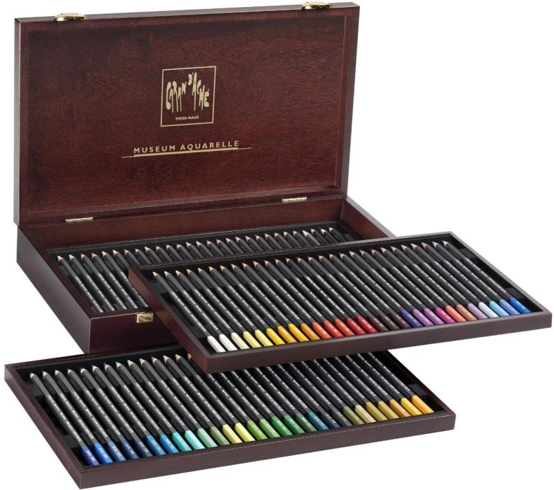 Caran D'ache Museum Aquarelle Watercolor Pencils