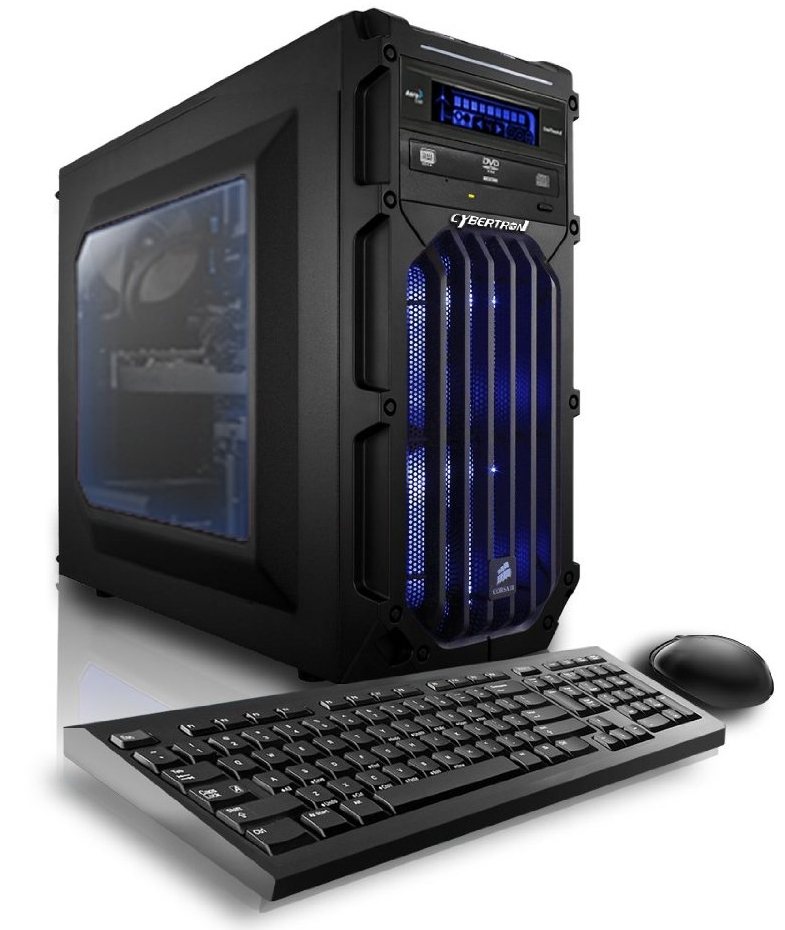 CybertronPC Flux X99 X4 Blue Gaming Desktop