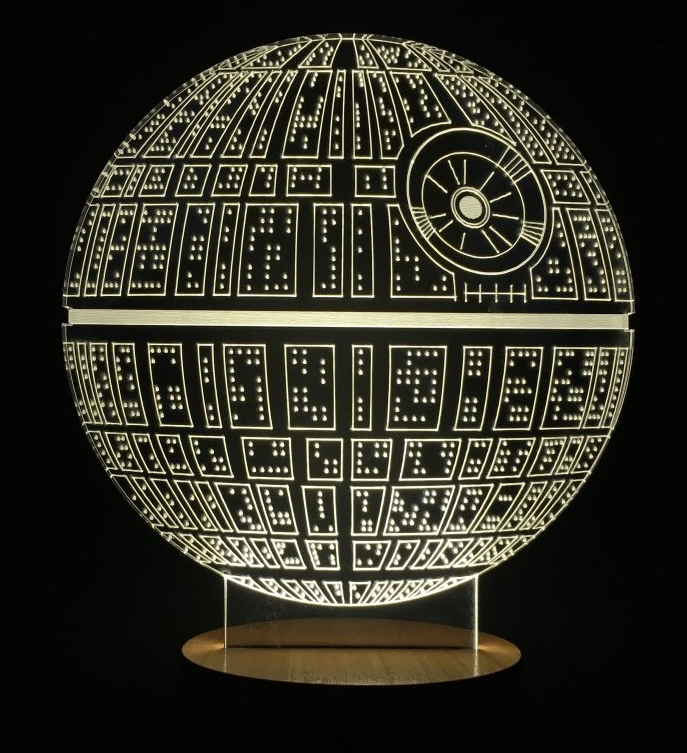 Death Star Table Lamp Micro USB Mood Lamp