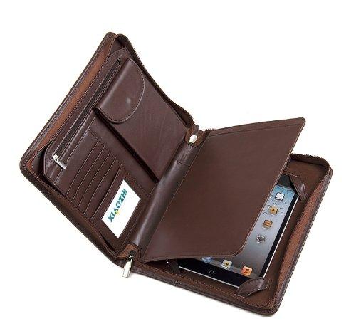 Deluxe Leather Padfolio Case, Fits iPad Mini 4 and Junior Legal aper