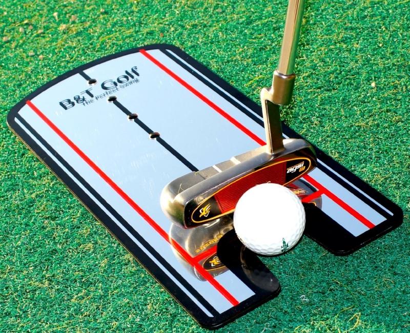 Golf Putting Alignment Mirror Training Aid