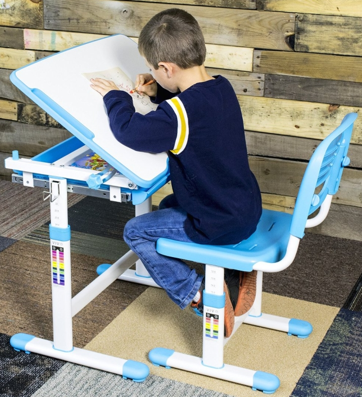 Height Adjustable Childrens Desk