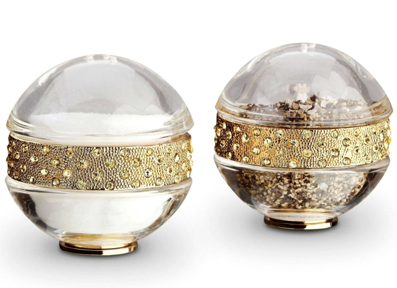 Jewels Pave Band Salt & Pepper Set
