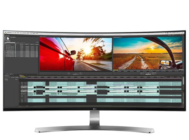 LG Electronics 34UC98 34-Inch WQHD IPS Curved LED Monitor