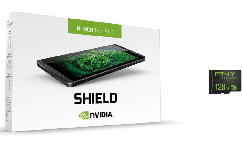 NVIDIA SHIELD Tablet K1 with 128GB Memory Card
