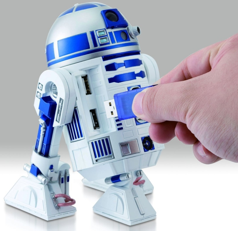STAR WARS R2-D2 USB HUB