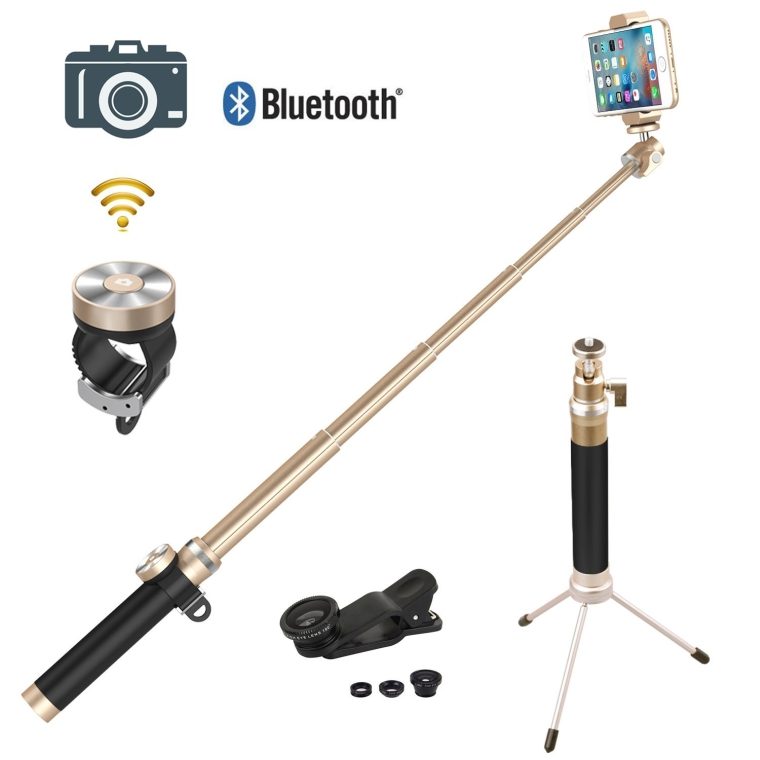 Selfie Stick W Full Metal Body - KS07 Limited Edition