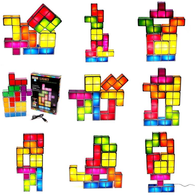 Tetris Popular Game Light Updated Version Puzzle