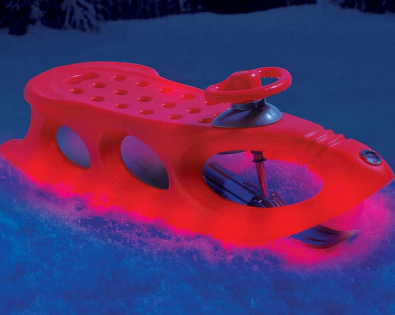 The Lighted Alpine Sled