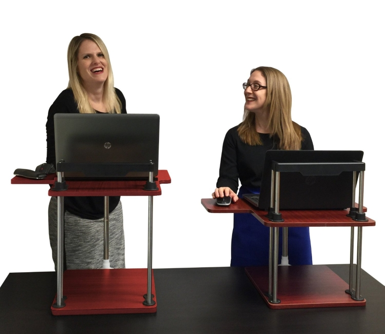 The UpTrak SitStand Desk