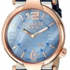 Women's Couture Slim Analog Display Swiss Quartz Blue Watch