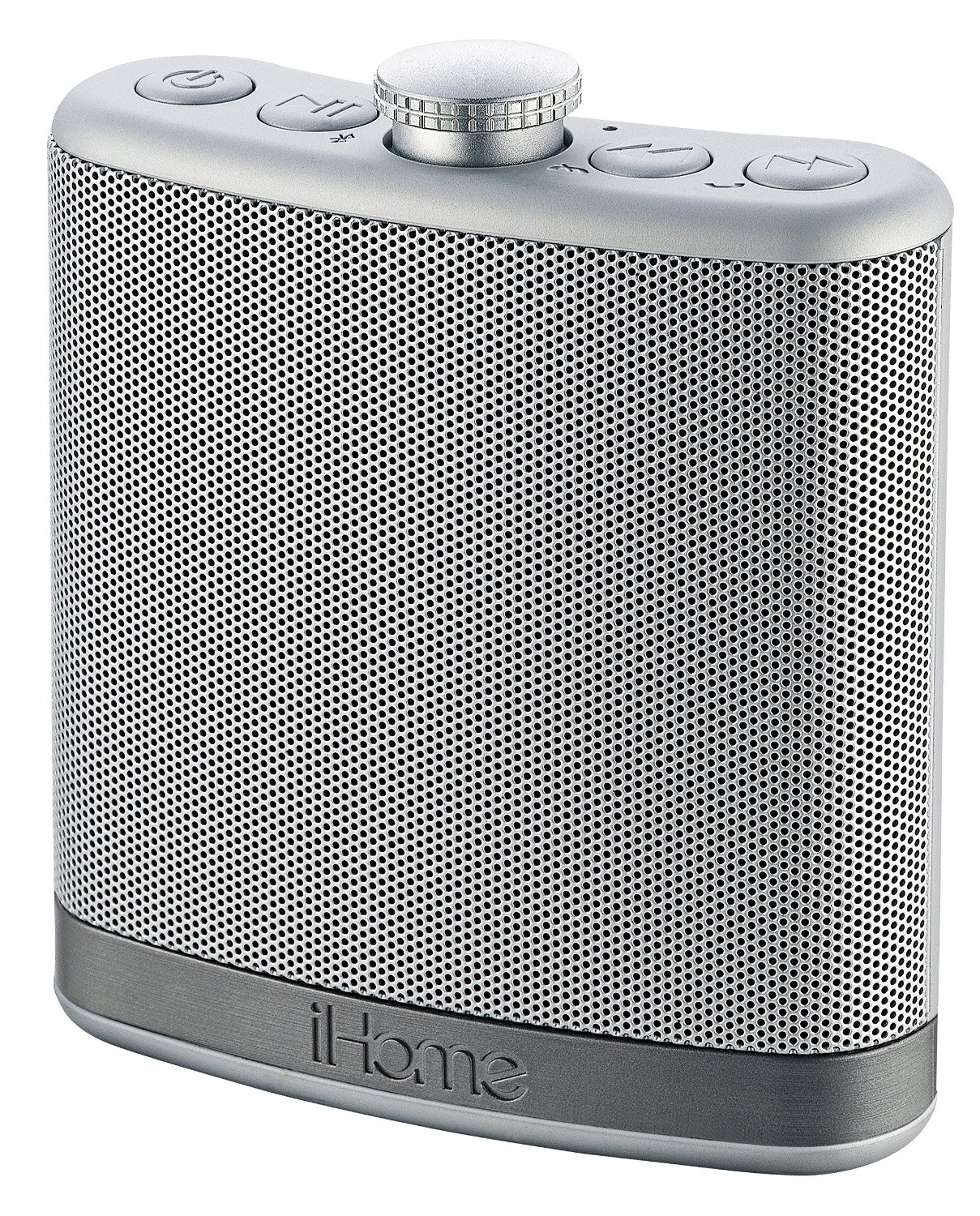 iHome iBT12SC Rechargeable Flask Shaped Bluetooth Stereo Speaker